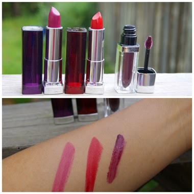 Maybelline New York Colour Sensational lipstick and Elixir by Colour Sensational