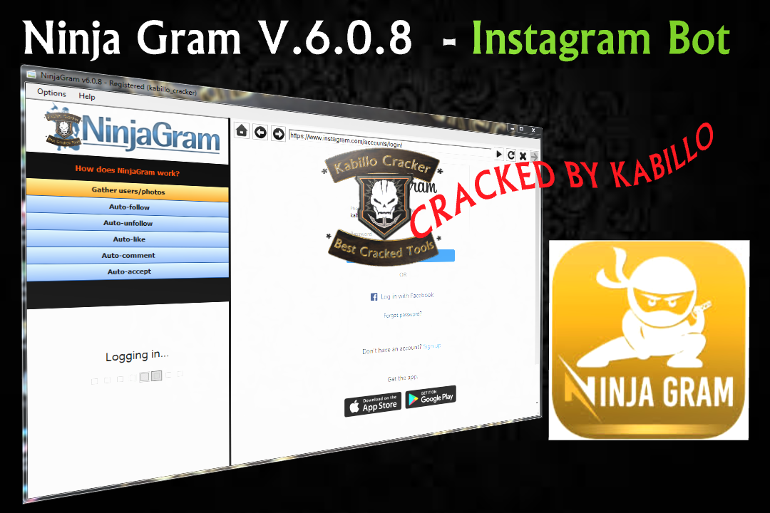 Ninjagram crack free download