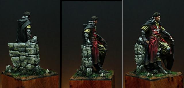 Caballero Hospitalario s.XIV por Rafa Coll