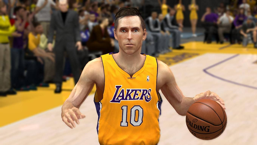NBA 2K14 Steve Nash Hairstyle Update