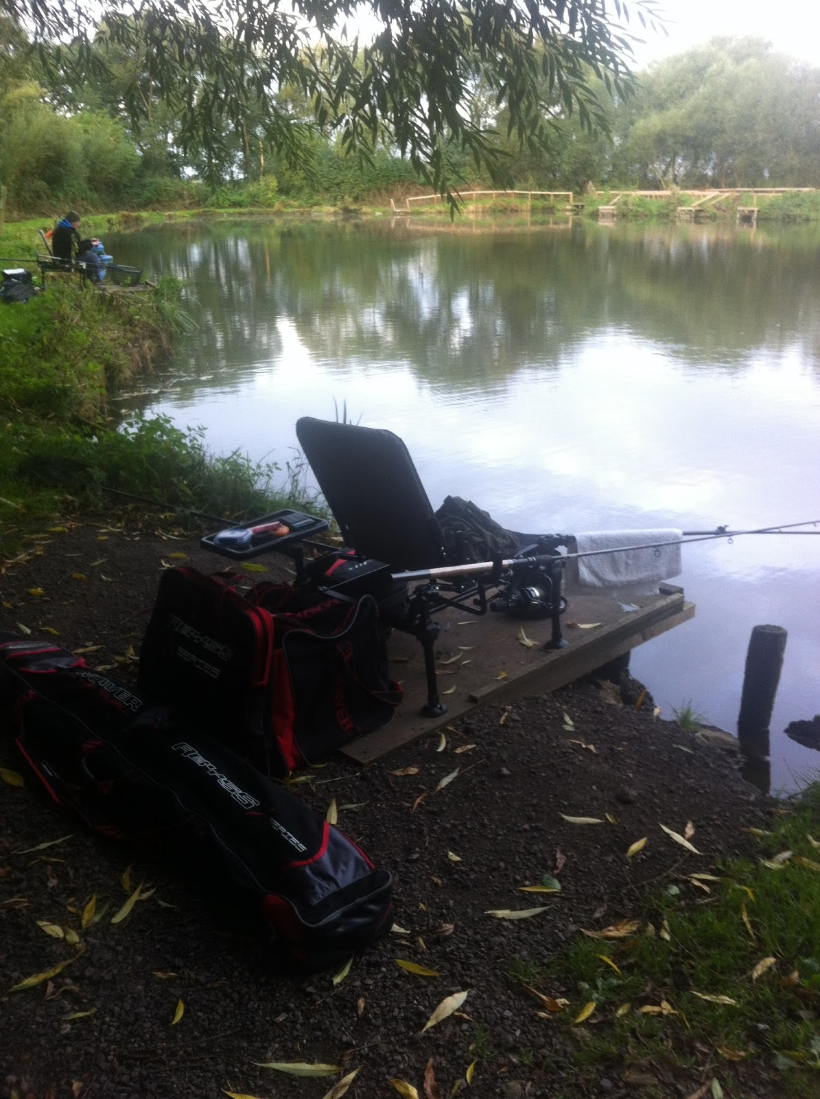 Uk fishing venues woodlands lakes willowgarth lake for Fish in a tree summary