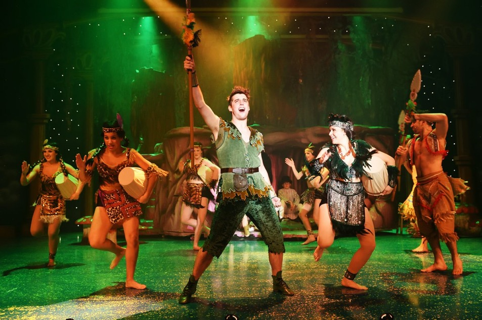 Pantomime Review Peter Pan At The Wyvern Theatre In