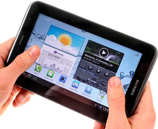 drawbacks of samsung galaxy tab 2 7.0