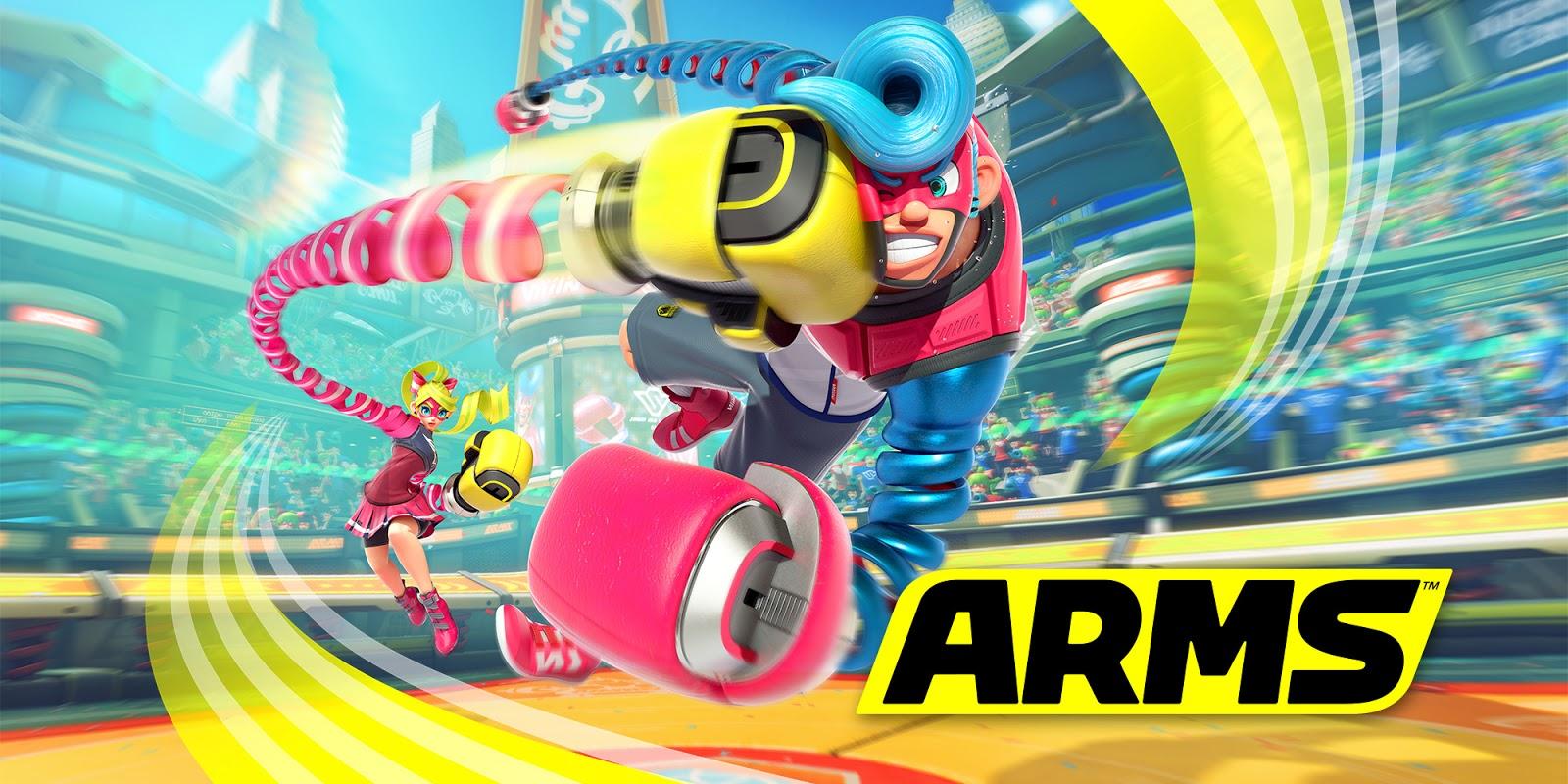 ARMS confirma y presenta una nueva luchadora