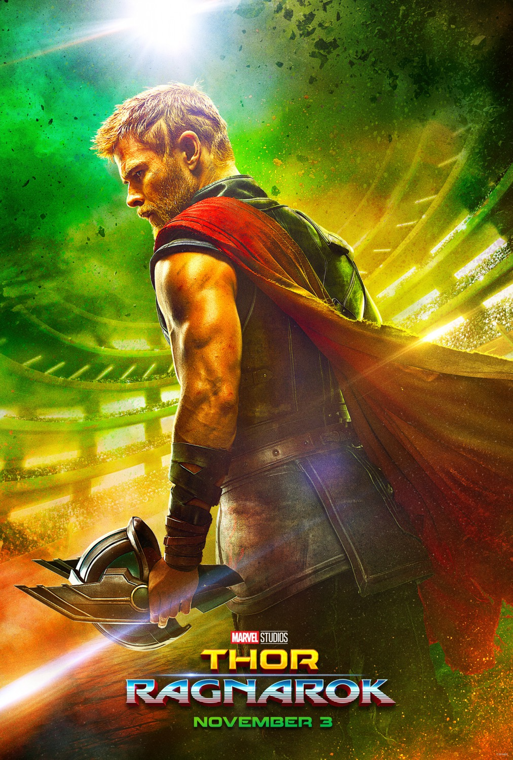 How To Eat Fried Worms Trailer: Marvel's Thor Ragnarok Teaser One Sheet  Movie Poster