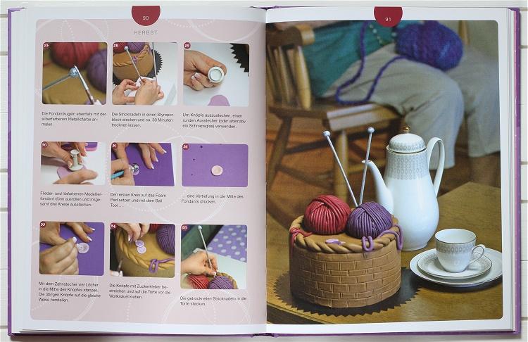 Buchvorstellung/Rezension Crazy Cake Design von Stefanie Noé 4
