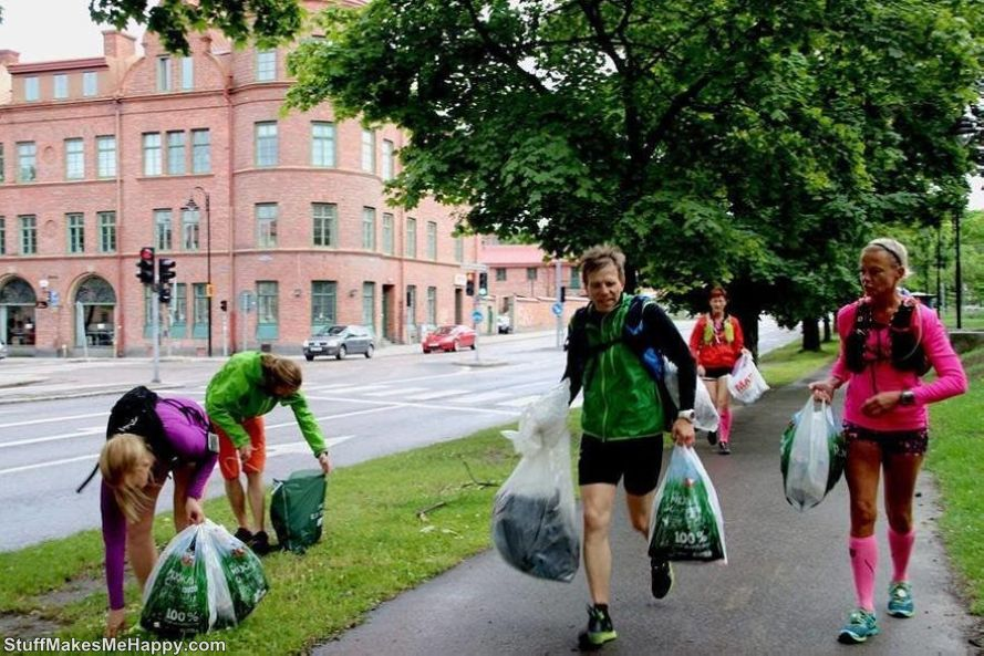 Plogging A New Fitness Trend to Clean the Garbage in Sweden