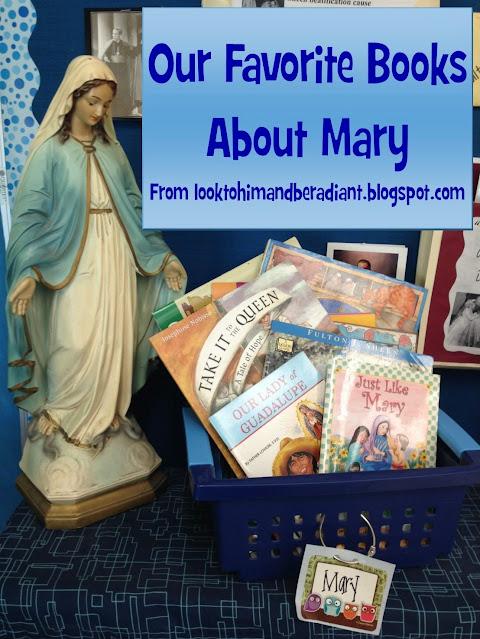 http://looktohimandberadiant.blogspot.com/2015/05/favorite-books-about-mary-playlist.html