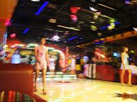 Myanmar bar girls show
