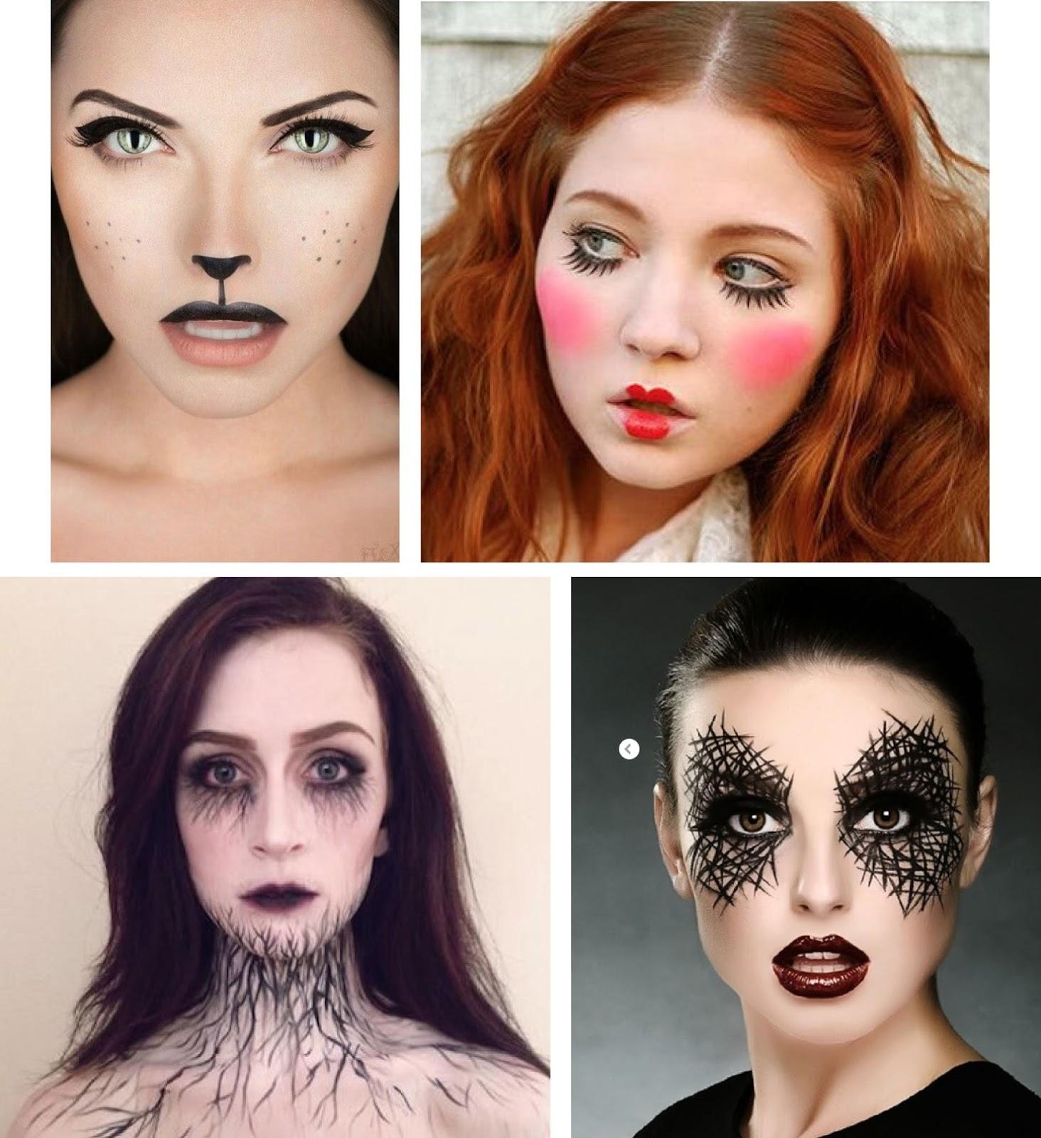Halloween Looks With Everyday Makeup.Everydayamy Pinterest Last Minute Halloween Looks For Lazy