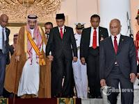 Di Luar Dugaan ! Ini Permintaan Khusus Raja Salman untuk Penyambutan di Gedung DPR Hari Ini