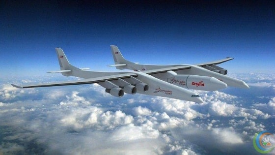 The aircraft is designed to fly satellite-carrying rockets