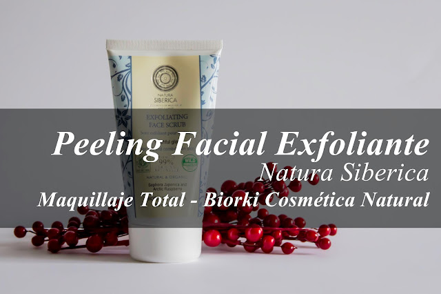 Exfoliante Facial para pieles grasas de Natura Siberica.