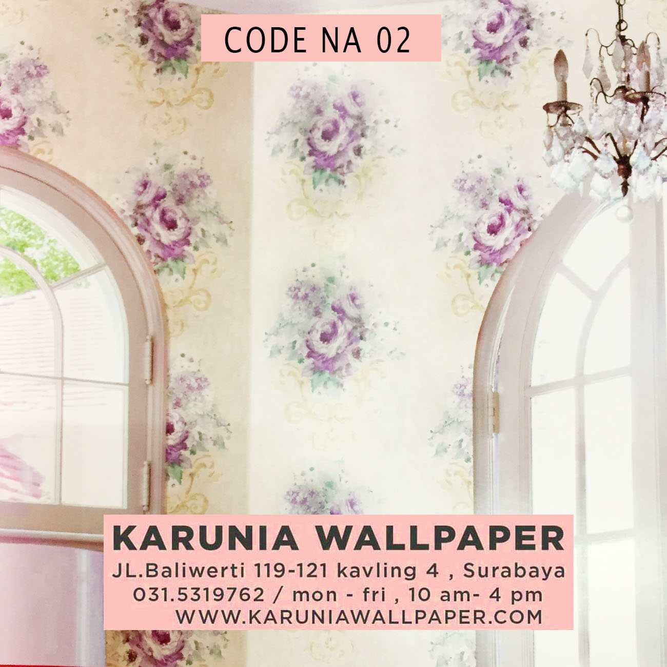 toko wallpaper dinding surabaya