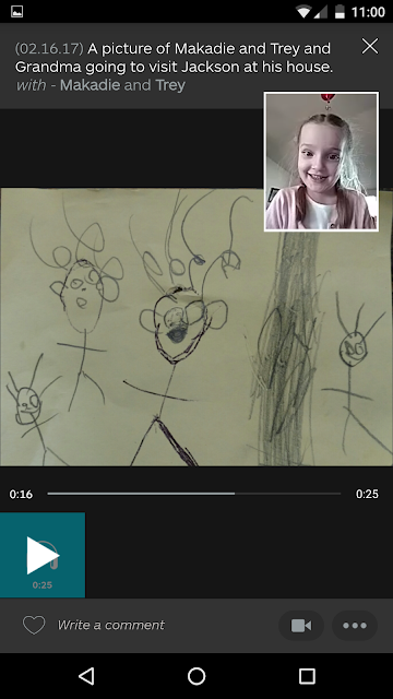 Learn more about the best app for organizing and managing your kids artwork and schoolwork