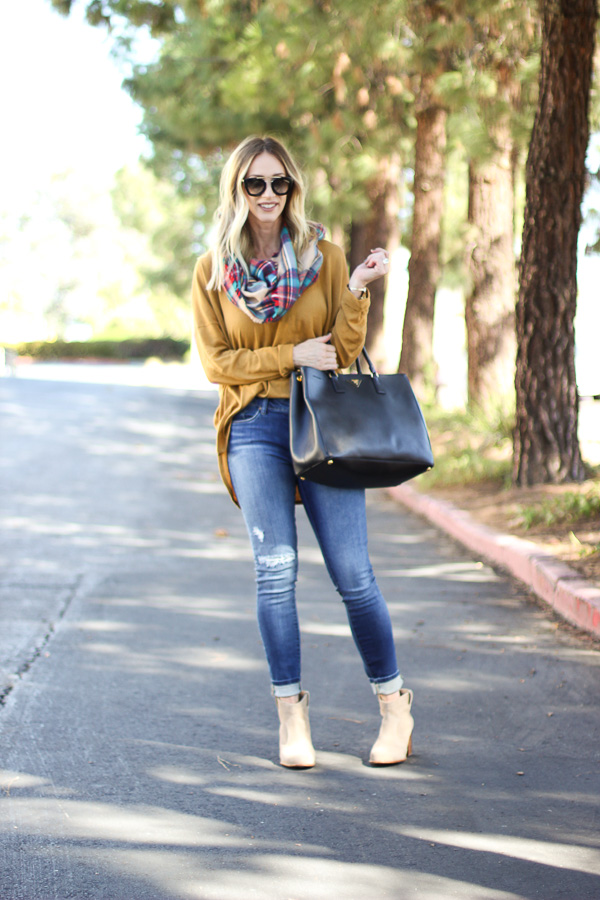 parlor girl fall sweaters with scarves