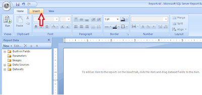 Insert Table in SQL Builder for design of reports Dynamics NAV 2013