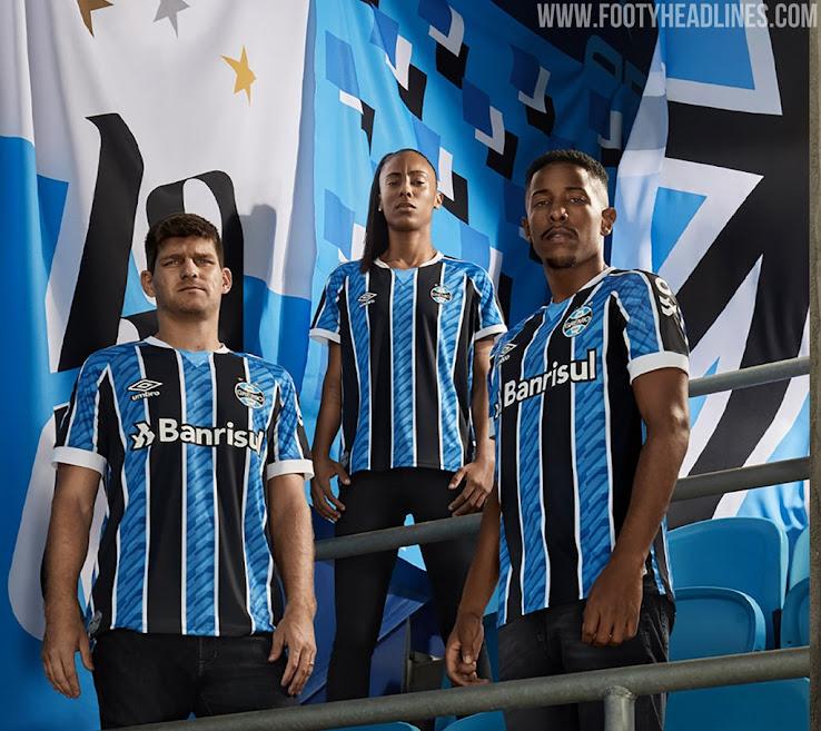 Grêmio 2020-21 Home & Away Kits Released - Footy Headlines
