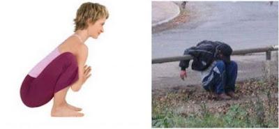 yoga positions vs liquor positions  oldhag