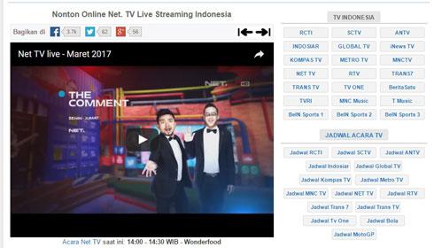 Live Streaming - Aplikasi Laptop Nonton TV Online Yang Ringan Dan Jernih