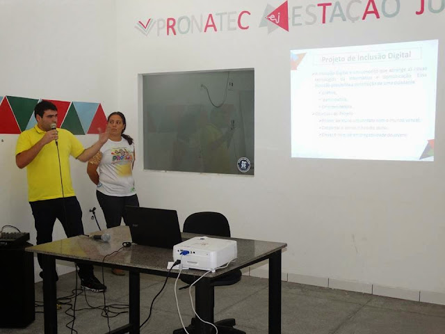 Prefeitura de Delmiro Gouveia faz lançamento do Programa Inclusão Digital.