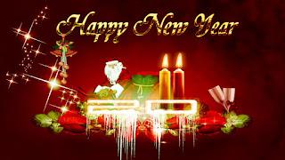 happy new year status updates