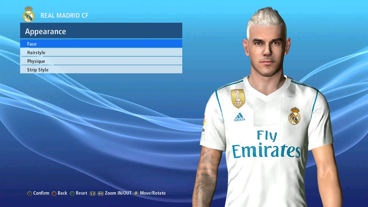 0497a52bcdf PES 2017 HERNANDEZ V2 Face fix+update by Ahmed Tattoo   Facemaker