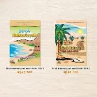 Buku Siroh Nabawiyyah Versi Anak-anak Jilid 1-2 Attuqa