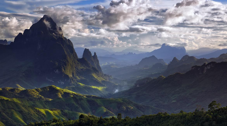 Gunung Phou Bia - 2.817 mdpl (Laos)