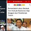 MAKJLEB! Wiranto Bentuk Tim Nasional Kaji Ucapan Tokoh, Fahri Sodorkan Video Cak Nun