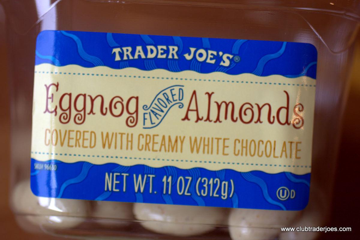 Trader Joe's Eggnog Almonds | Club Trader Joe's