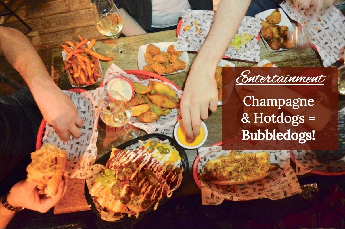 Bubbledogs Review – Champagne & Hotdogs in London