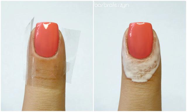 cieniowanie paznokci