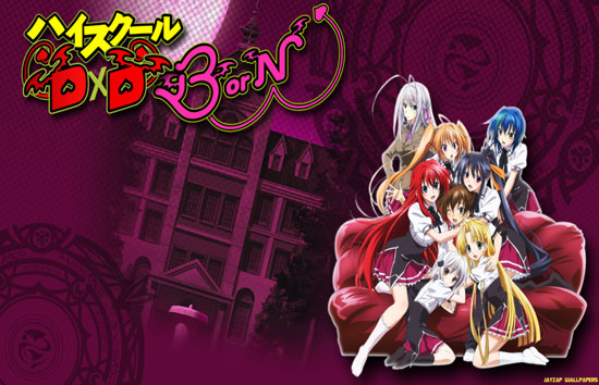 Download High School DxD BorN Episode 1 – 12 (End) Subtitle Indonesia