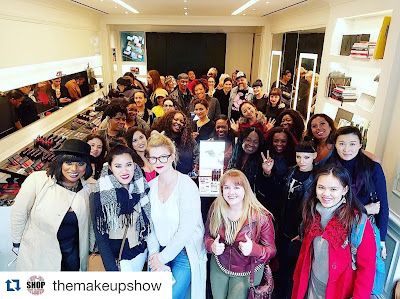 TMSNYC Beauty Tour 2016 - www.modenmakeup.com