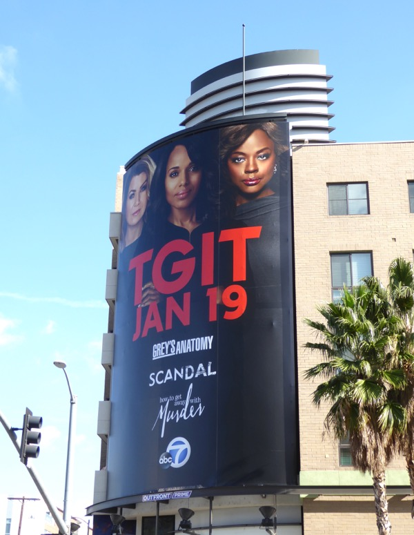 TGIT 2017 New Year billboard