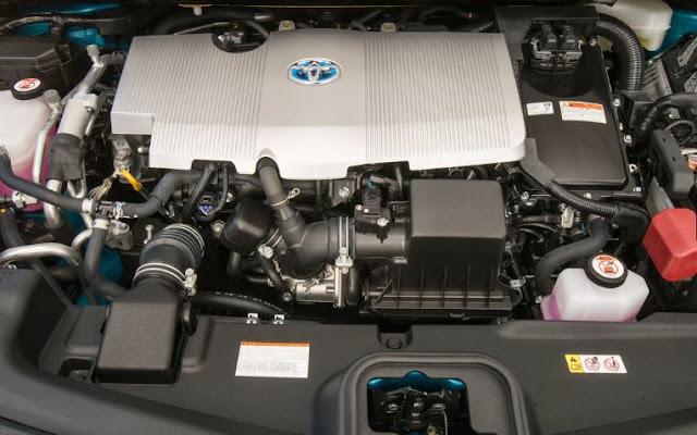 2018 Toyota Prius Prime Engine