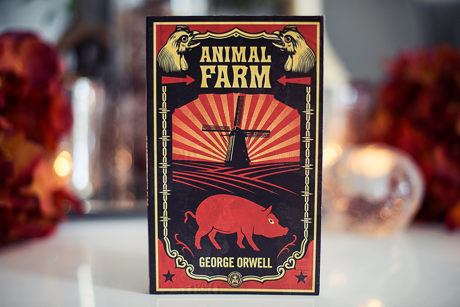 a book report on animal farm by george orwell Animal farm is the most famous by far of all twentieth-century political allegories (book jacket status: george orwell called animal farm a fairy story.