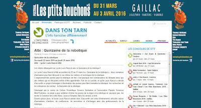 http://www.danstontarn.fr/2016/03/21/albi-quinzaine-de-la-robotique/