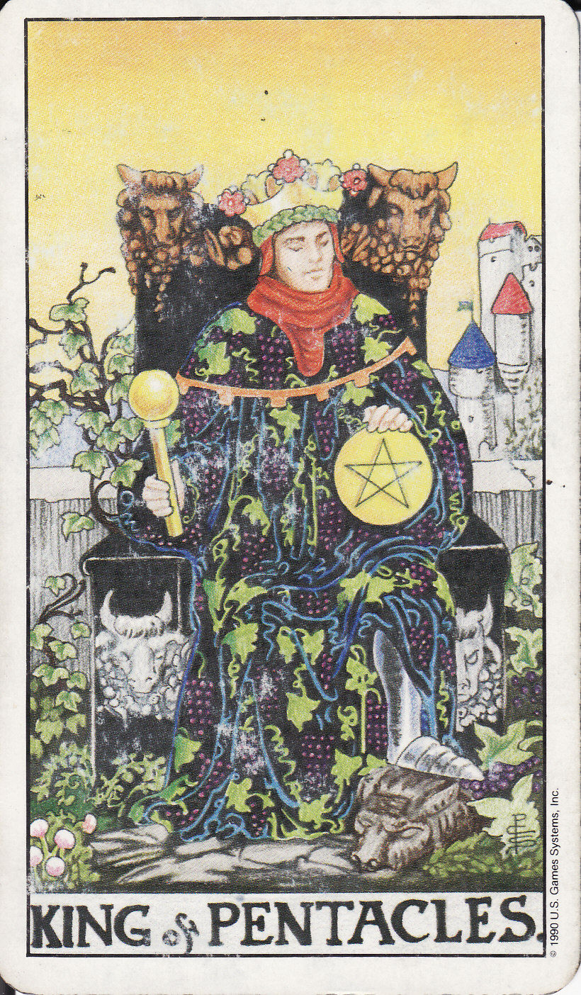 TAROT - The Royal Road: KING OF PENTACLES