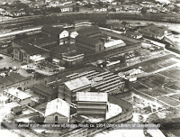 Aerial photo of Brisbane's Boggo Road Gaol, 1954.