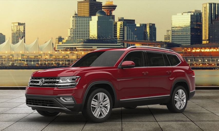 Volkswagen Atlas 2018 Couleurs Colors