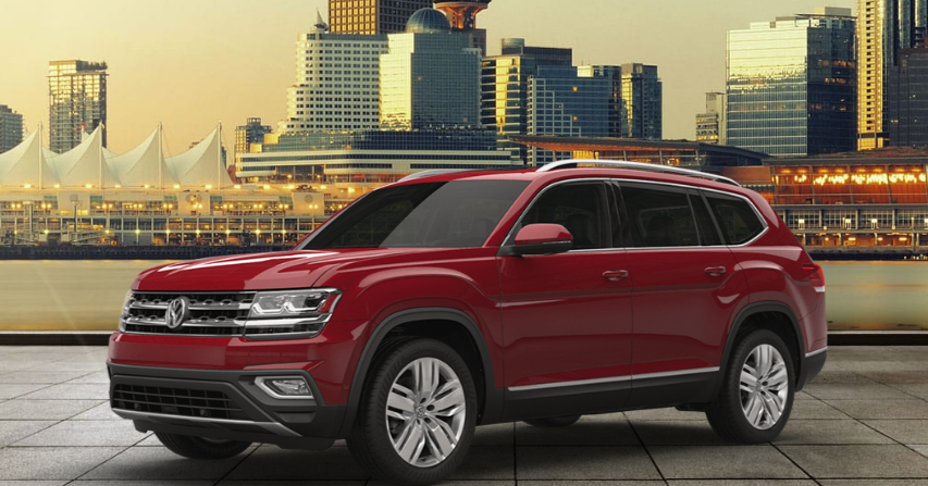 volkswagen atlas  couleurs colors