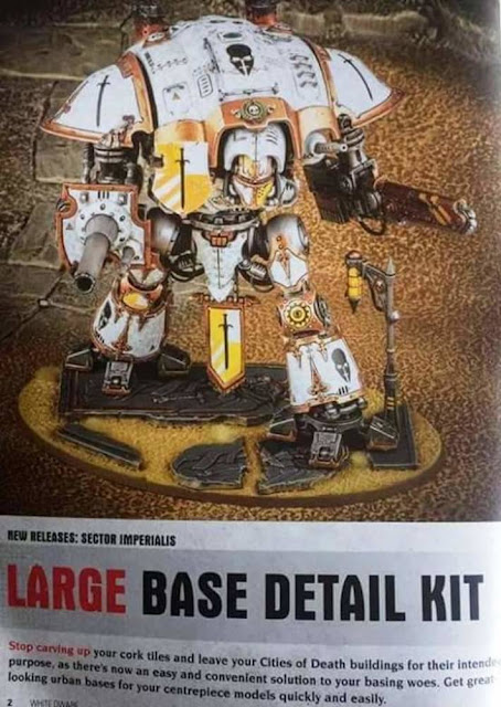 Citadel base detail kit