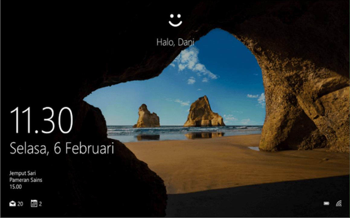 Asus VivoBook Ultra A412DA Lebih Aman Dengan Windows Hello