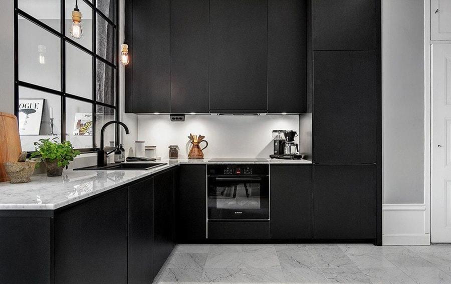 Cocinas negras ideas para un resultado espectacular