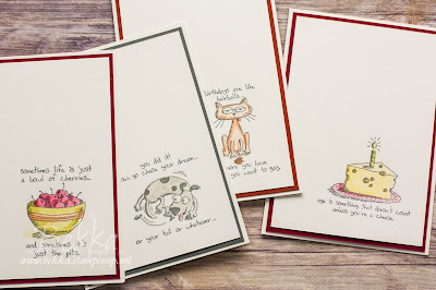 Giggle Greetings Stamp Set from Stampin' Up! UK - Last Chance to Buy