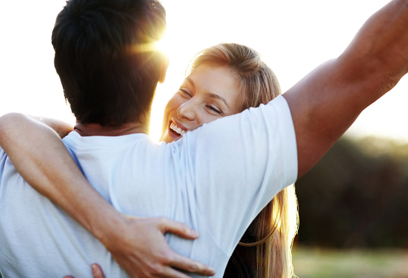 health benefits of hugging your spouse