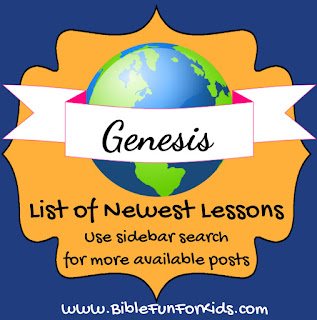 http://www.biblefunforkids.com/2014/04/genesis-lesson-list-with-links.html