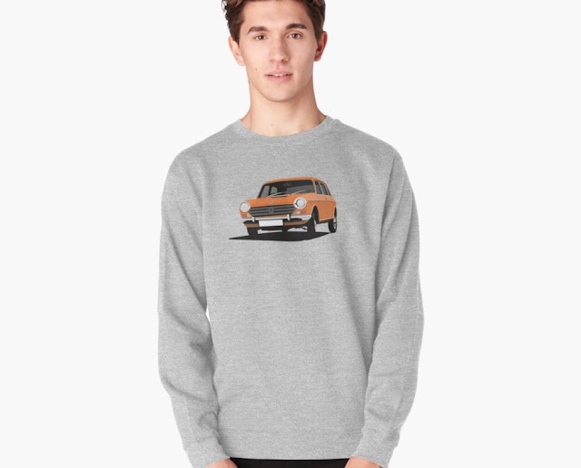 60's british automobile - morris 2200 t-shirt